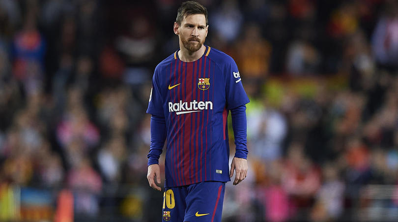 Messi Pulls Out Of Barca Squad To Face Ideye's Malaga