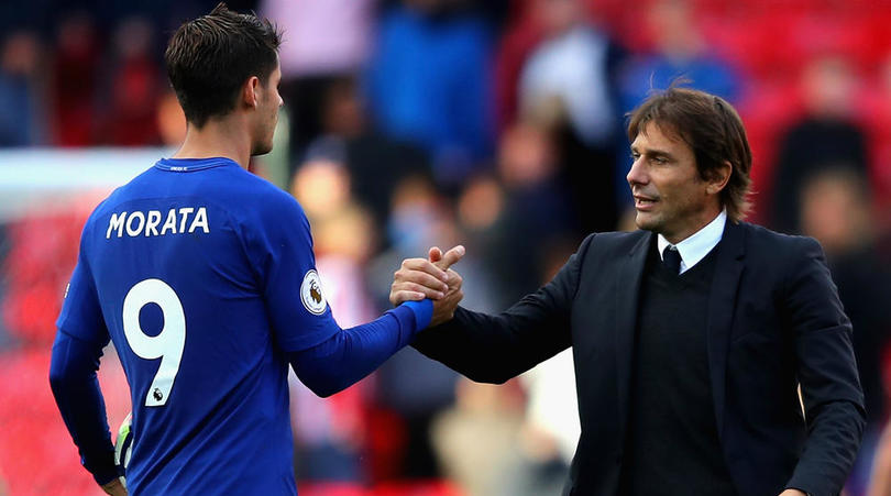 Morata Reckons Chelsea Manager Antonio Conte Is Tactically Better Than Real Madrid's Zidane