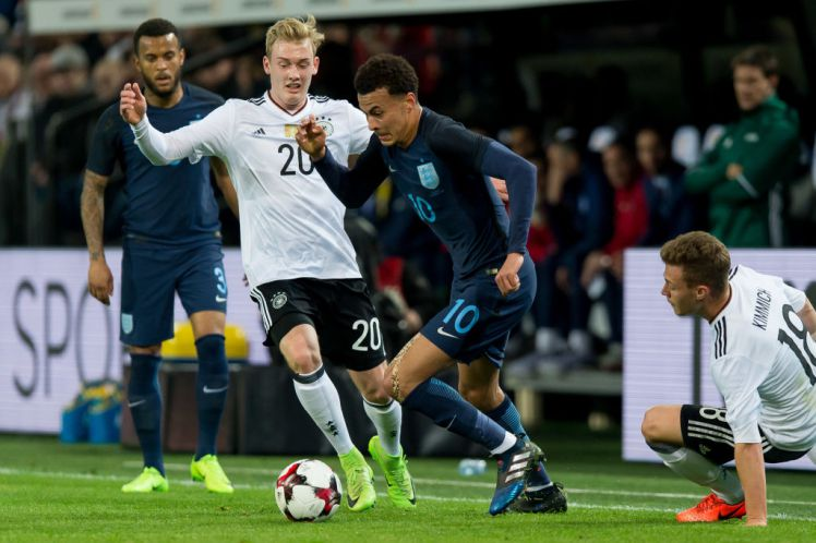 Dier: Germany-England Match Is More Than Just A Friendly