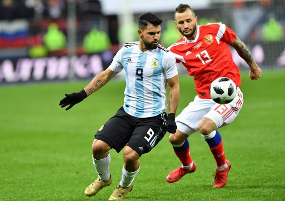 Aguero Eyes Argentina Victory Over Super Eagles