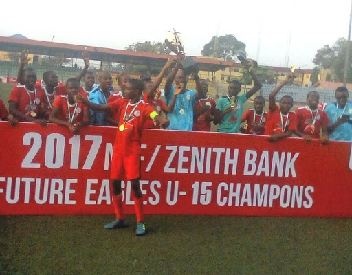 South East Thrash North West In NFF/Zenith Bank U-15 Final
