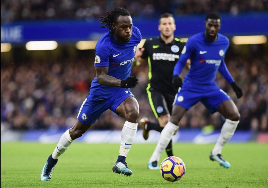 Moses Rated Average In Chelsea Draw At Arsenal