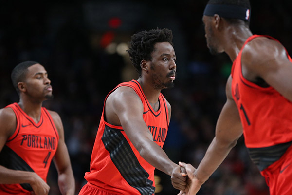 Aminu Scores Season's Fewest Points In Blazers' Win