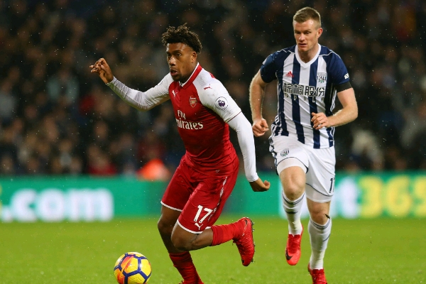 Iwobi Disappointed With West Brom Draw, Wishes Arsenal Fans Happy New Year