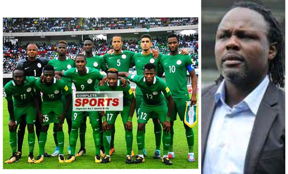 INTERVIEW  – Ikpeba: Super Eagles  WILL Reach  Russia 2018  Quarter-Finals