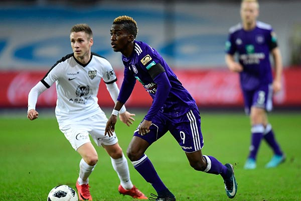 Onyekuru: I Won't Return To Anderlecht, Eagles Will Soar In Russia