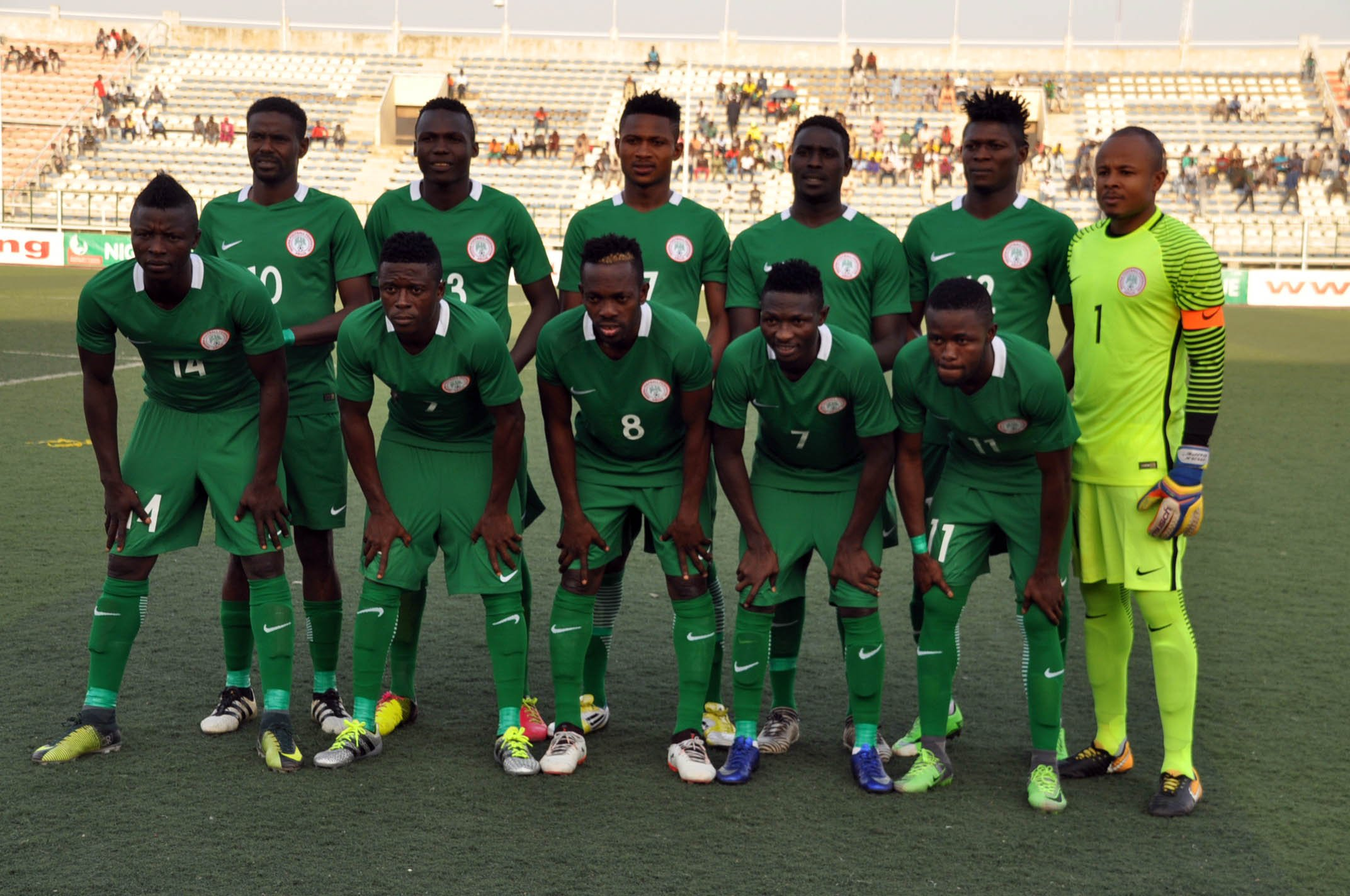 Home Eagles Open Abuja Camp Next Week For CHAN 2018 Preparation