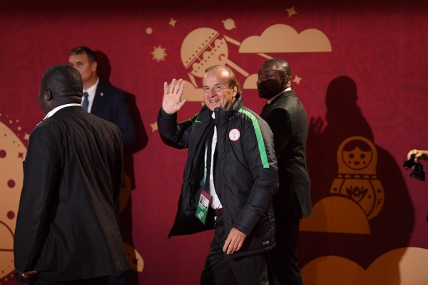Rohr: First Game Vs Croatia Crucial; Eagles Will Make Nigerians Happy