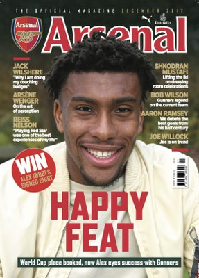 Arsenal Magazine Cover Star Iwobi: I Need To Score More Goals; Sanchez, Ozil Incredible