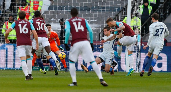 Moses Subbed On As West Ham Stun Chelsea