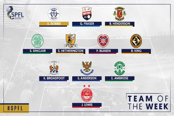 Ambrose Earns Praise, Makes Official Scottish League Team Of The Week