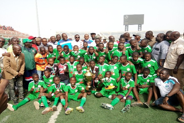 North Central Win NFF Zenith U-13 Tourney