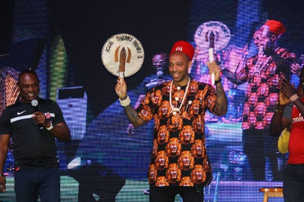 Guinness Unveil Jollof-Eating 'Igwe' Thierry Henry As Campaign Ambassador In Nigeria