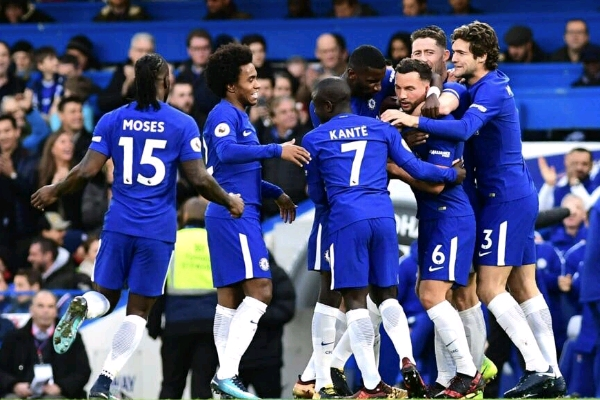 Moses Hails Chelsea Team Performance In Win Over Stoke