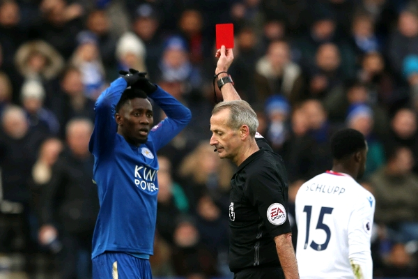 Albrigton: Fantastic Ndidi Gutted By Red Card, Has Leicester Teammates' Support