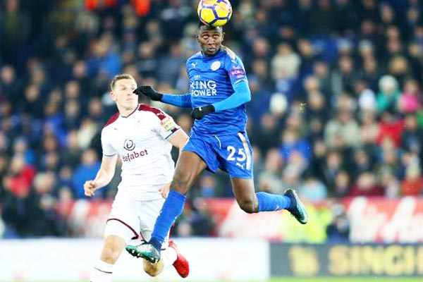 Ndidi Gets Top Rating In Leicester Win Over Burnley