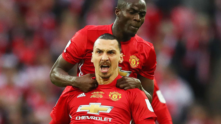 [WATCH] Hilarious Video Of Manchester United's Eric Bailly Challenging Zlatan Ibrahimovic To A Fight