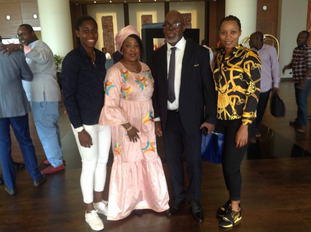 Rohr Lands In Accra For CAF Award; Pinnick, Others Visit Ghana President