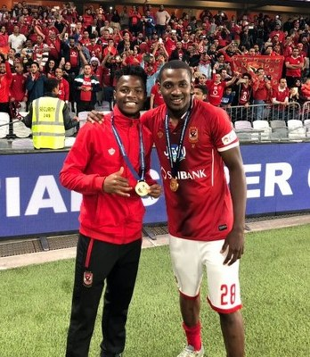 Ajayi Relishes Egyptian Super Cup Win With Al Ahly