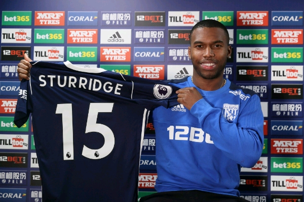 West Brom Sign Sturridge On Loan From Liverpool