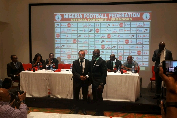 Rohr Officially Signs New Two-Year Super Eagles Deal