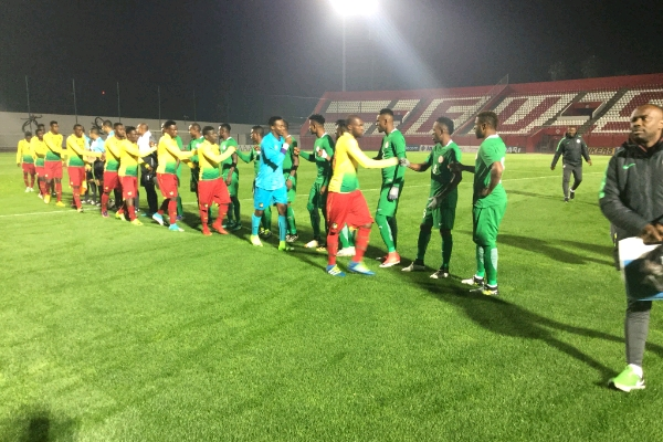 Home Eagles Draw With Cameroon In CHAN Warm-Up Game
