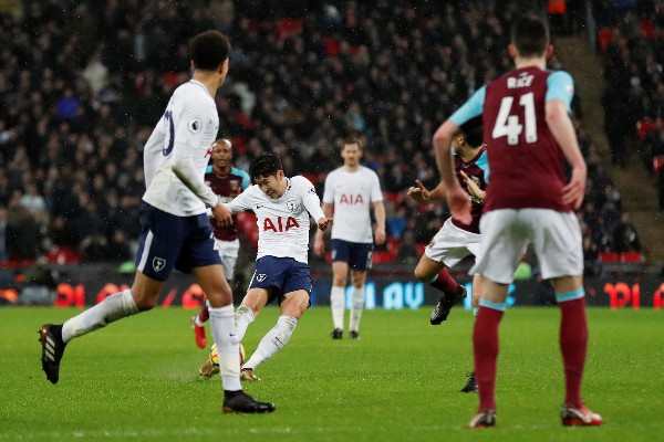 Son Strike Salvages Point For Spurs Vs West Ham