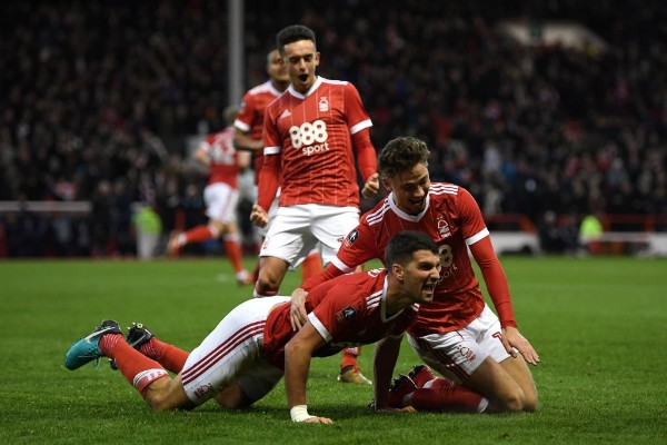FA Cup: Iwobi In Action As 10-Man Forest Stun Arsenal