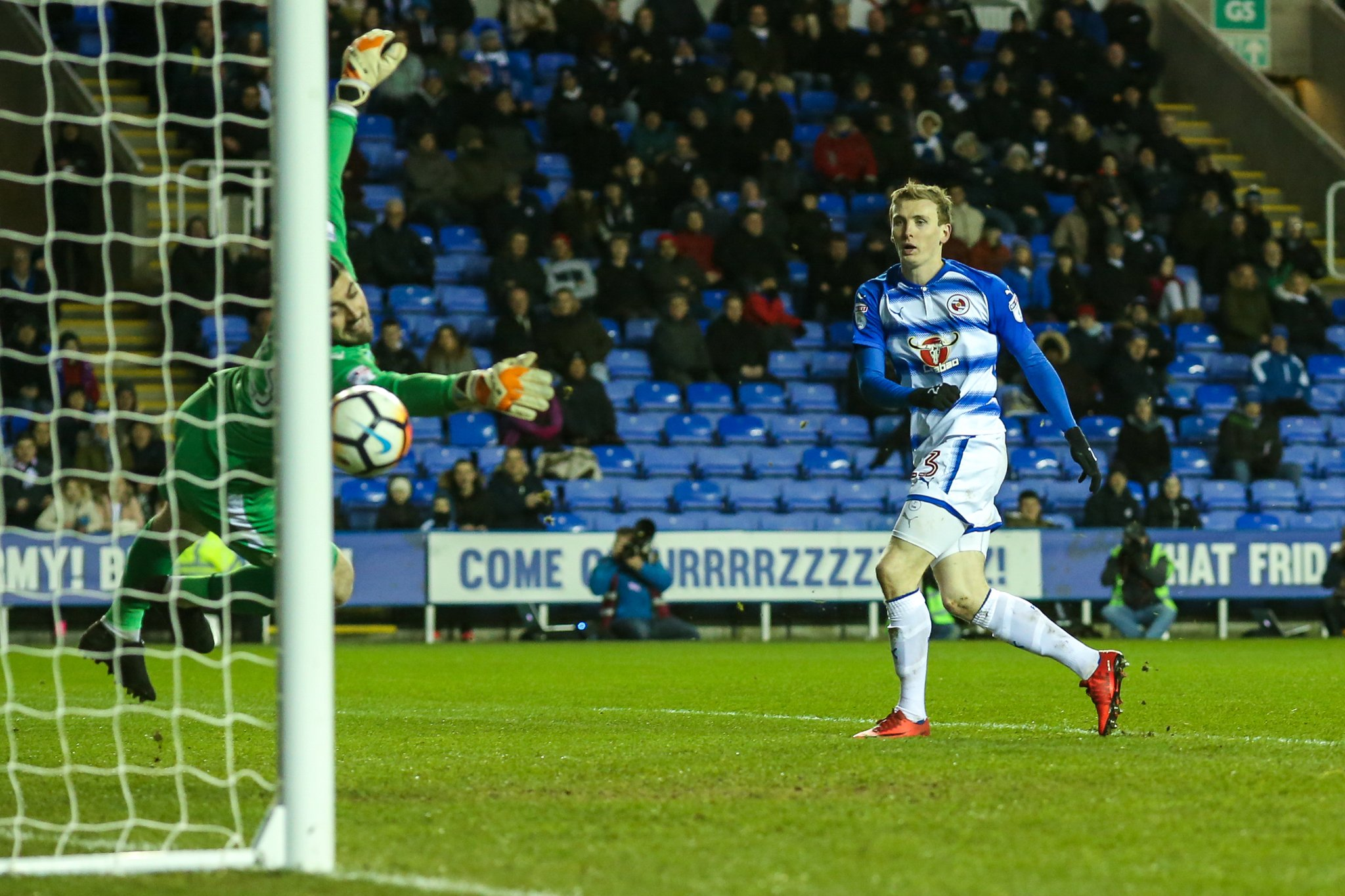 FA Cup: Iceland Star Bodvarsson Hits Hat-trick, Aluko Stars As Reading Advance