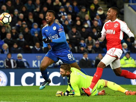 Leicester Boss Puel Showers Praises On Iheanacho After FA Cup Brace