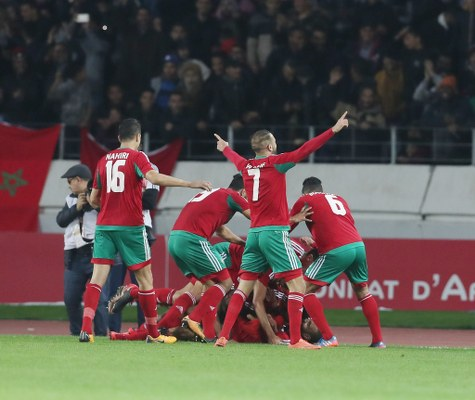 CHAN: Morocco Overcome Namibia, Advance Into First-Ever Semi-Finals