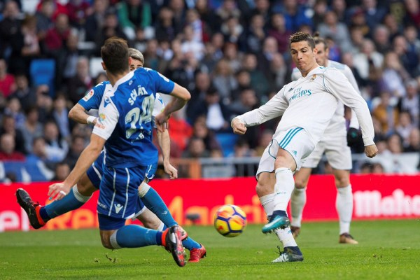 Real Madrid Bounce Back As Ronaldo, Bale, Modric Destroy Deportivo