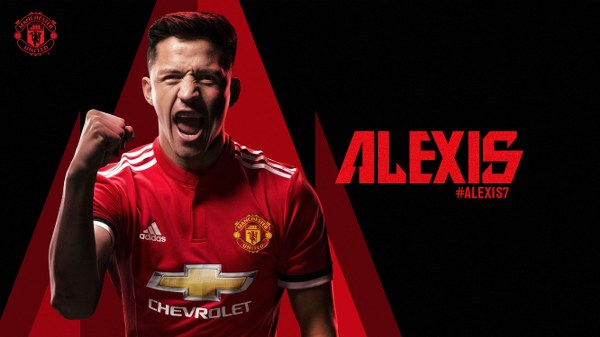 Man United Confirm Sanchez Signing, Hand Him Iconic No.7 Shirt