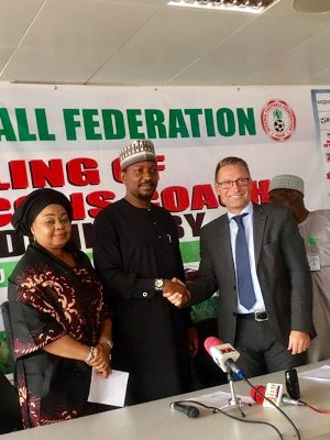 NFF Unveil Swede Dennerby As Super Falcons New Head Coach