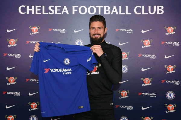 Chelsea Confirm £18m Giroud Arrival From Arsenal