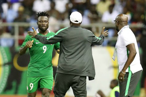 Yusuf Relishes Home Eagles' Double Target; To Win CHAN 2018, Make Russia 2018 W/Cup Squad