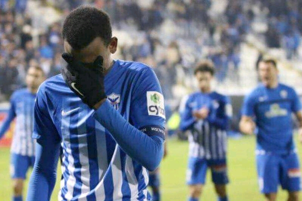 Abdullahi In Tearful Farewell  From Anorthosis Famagusta