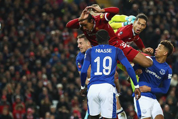 FA Cup: Van Dijk Fires Liverpool Past Everton On Debut