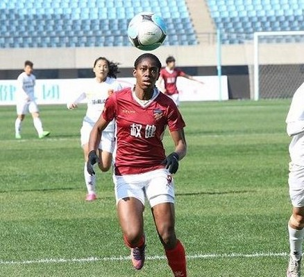Oshoala: My Success In China Now Inspiring  More Female Footballers