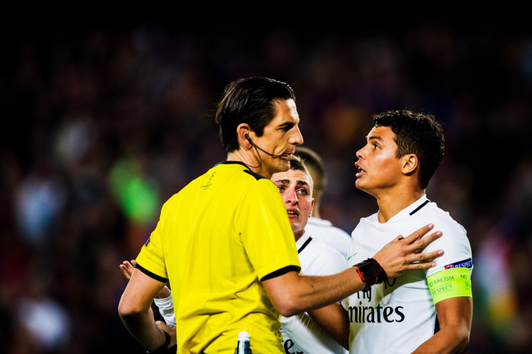 PSG Coach Fingers Referee For Monumental Collapse To Barcelona In Last Season's Champions League