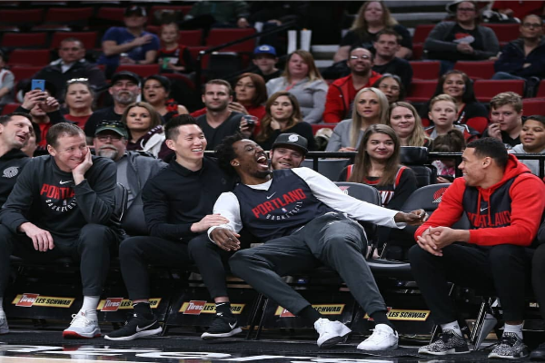 D'Tigers Star Aminu Delighted As Trail Blazers Stun NBA Champions Warriors