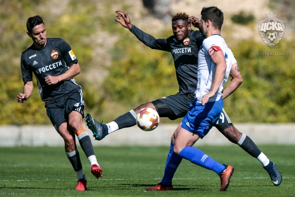 Aaron Samuel Bags Hat-trick In CSKA Moscow Friendly Win