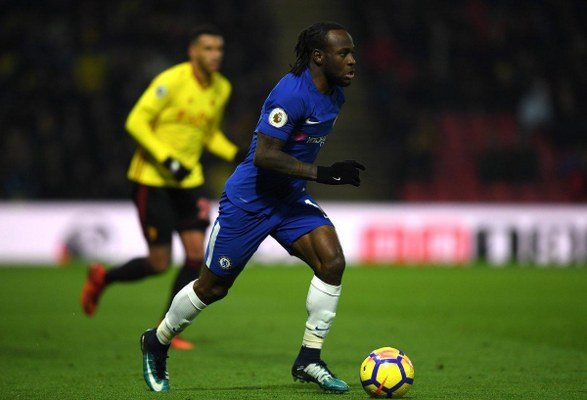 Moses Rated Chelsea Best Player In EPL Defeat To Watford