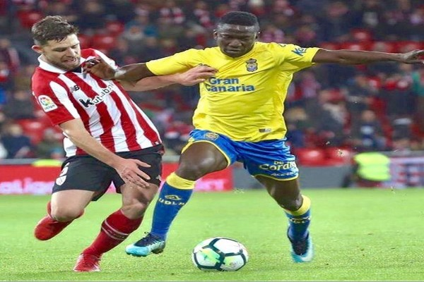 "Etebo ""Disappointed"" Las Palmas Drew With Athletic Bilbao"