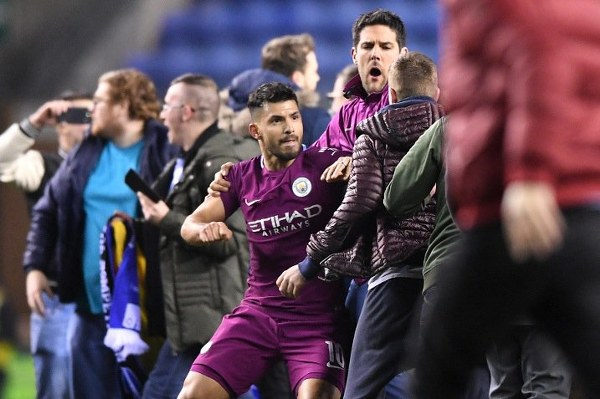 Man City Consider Legal Action Over Aguero Claims After Fracas At Wigan