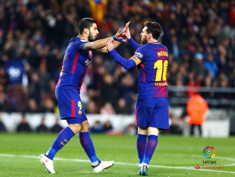 Suarez Hat-trick, Messi Brace Lead Barca To Big Win Over Girona