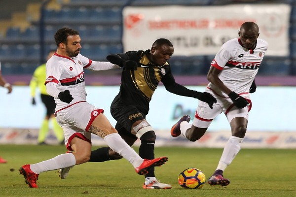 Umar, Lawal Can't Help Osmanlispor End Winless Run; Azubuike Benched