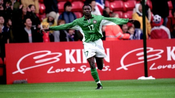 NFF Celebrate Ex-Super Eagles Star Aghahowa At 36