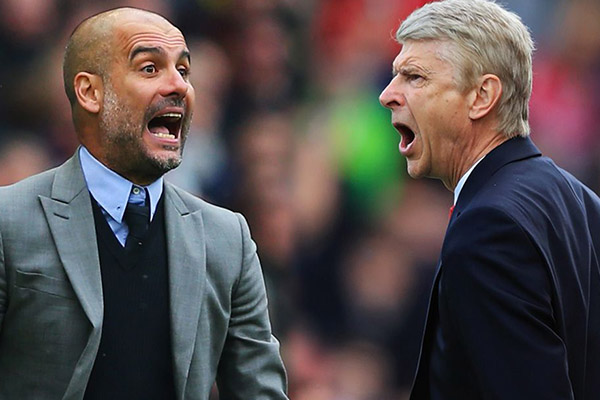 GUARDIOLA 6-3 WENGER: Man City Manager Takes Superior Record To Carabao Cup Final Vs Arsenal
