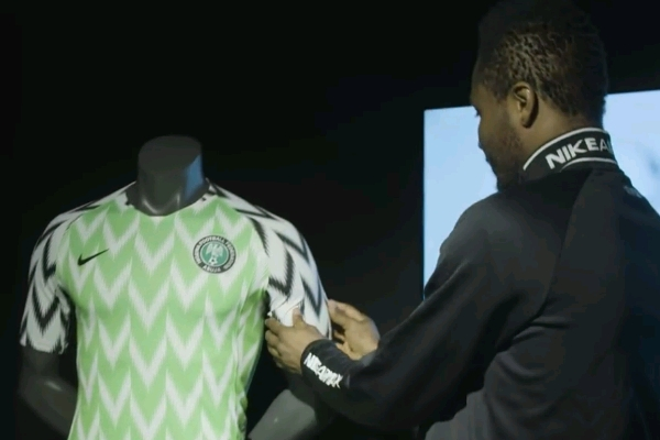 outlet store a999b 3c2c8 PHOTOS: Nike Unveil New Super Eagles World Cup Kits ...
